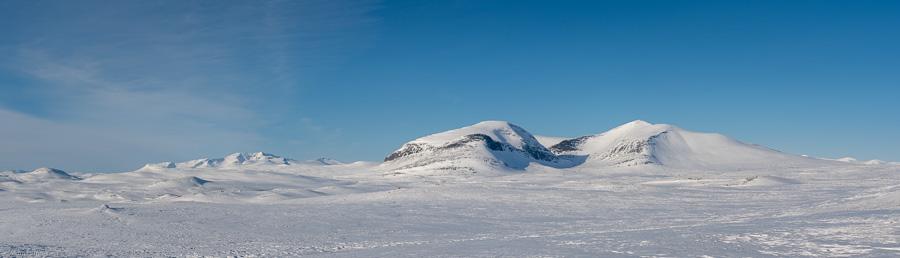 Panorama close to Fältjägaren