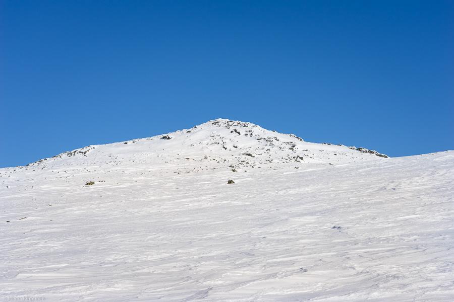 Ånnfjället on skis