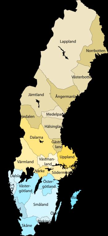 Sverige-Landskap