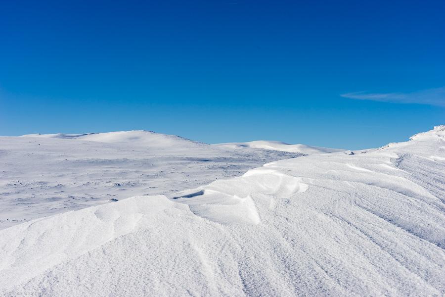 Utsikt från toppen av Våkkläppen