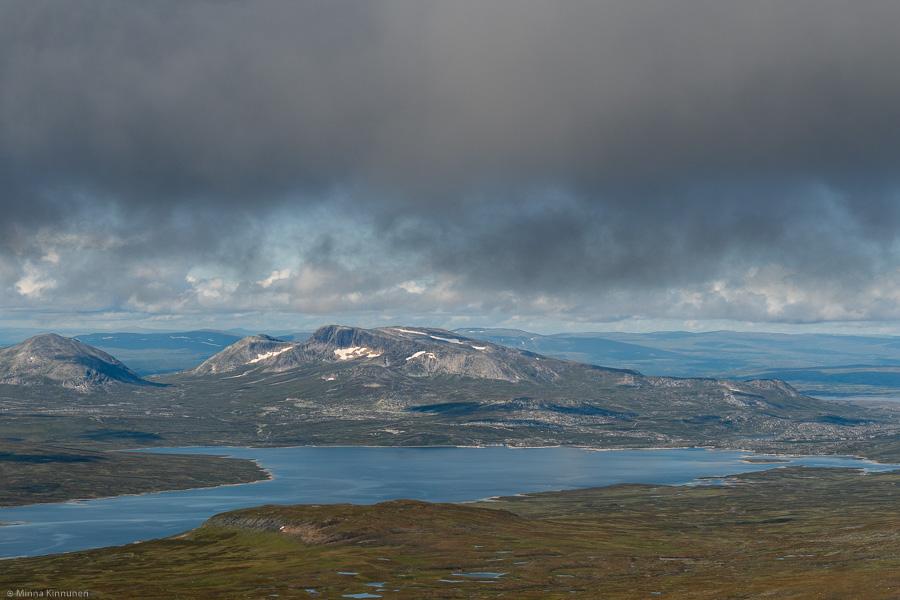 Sylsjön och Skardsfjella