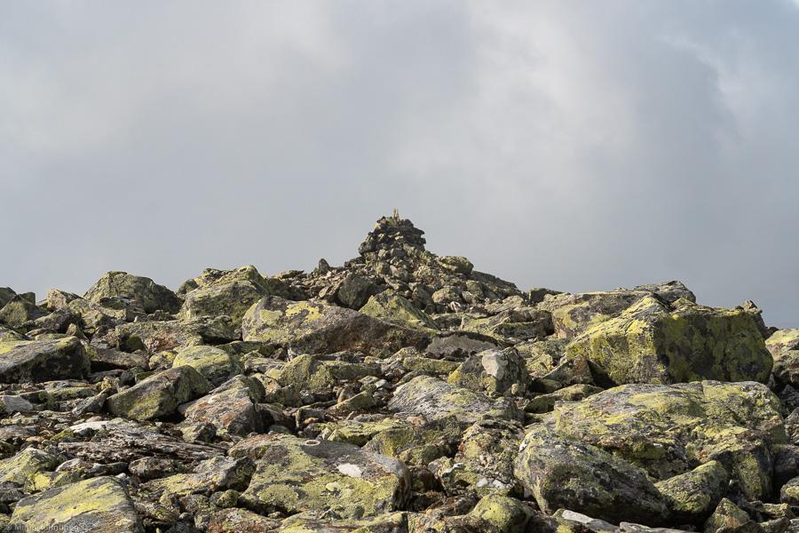 Toppen av Helags Västra