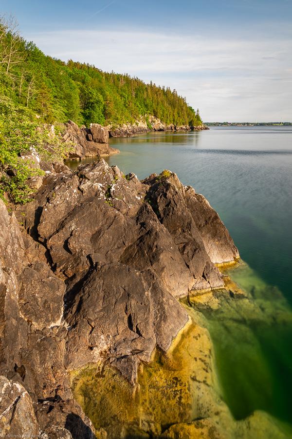 Ombergs klippor vid Stocklyckehamn