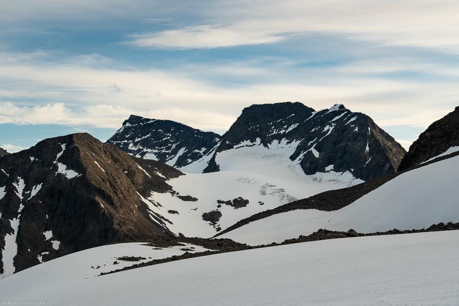 Kebnekaise (Giebmegáisi) Nordtoppen och Giebmebákti