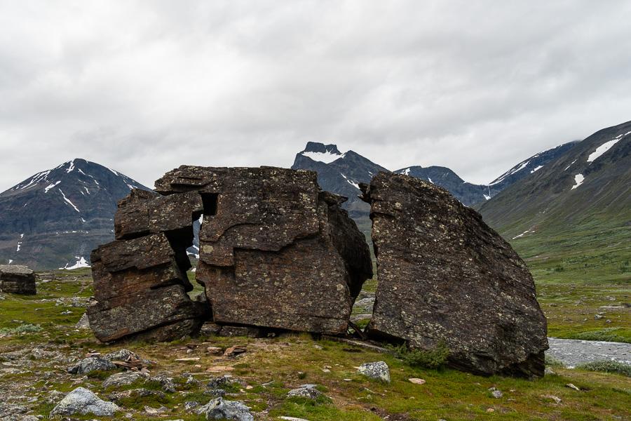 Spännande stenformationer