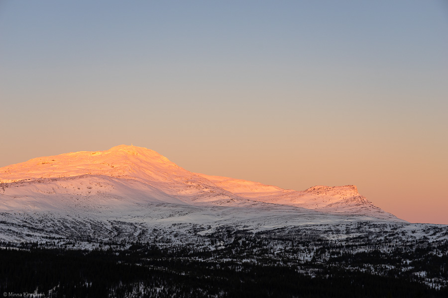 Fjälltoppar i Jämtlands län