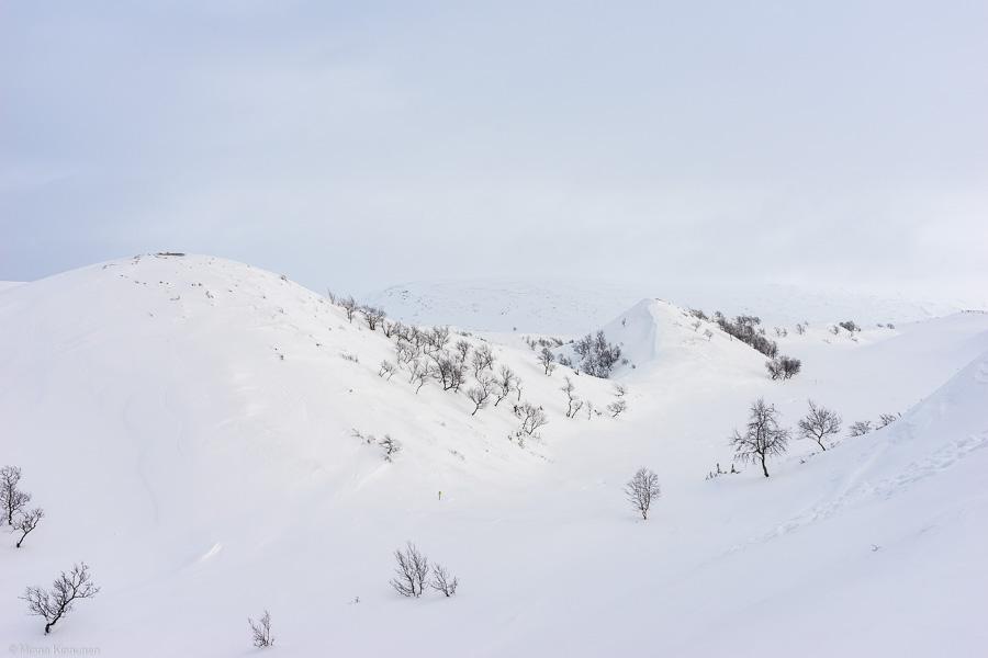 Pyramiderna i vinterskrud