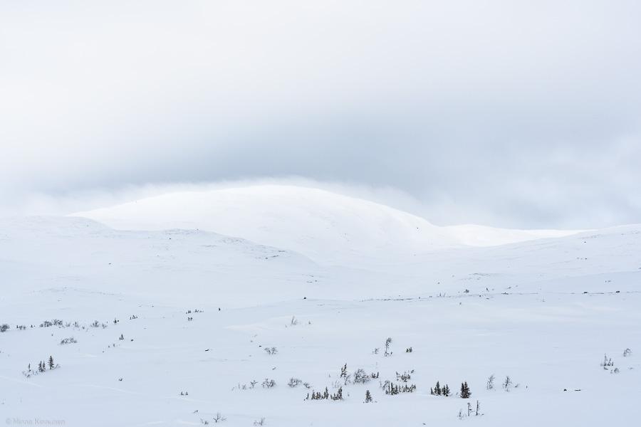 Nu börjar molnet på Östertoppen försvinna